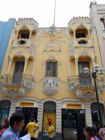 Calle Jiron de la Union Lima