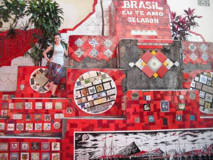 Escada de Selaron, Rio de Janeiro