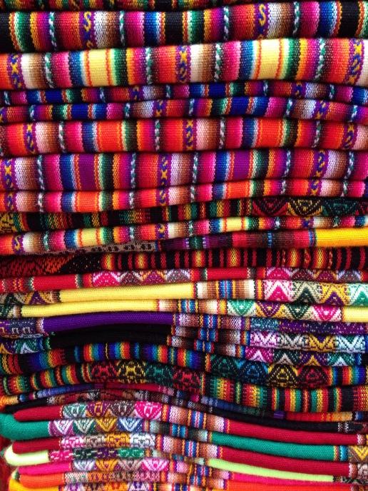 Peruvian fabric textiles