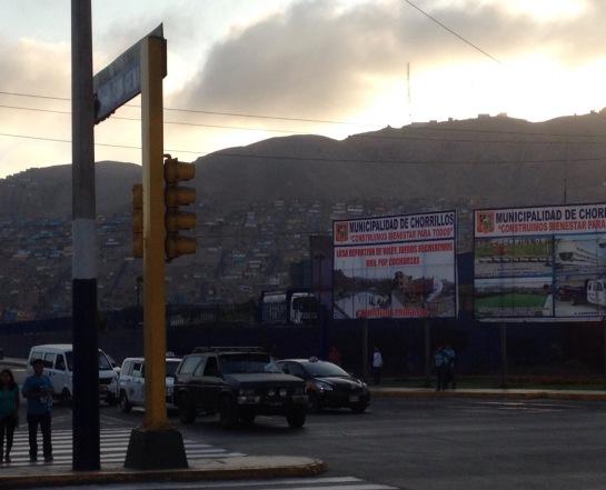 Lima suburbs