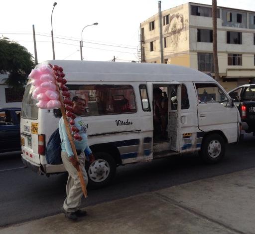 street vendor Peru Lima
