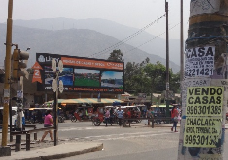 suburbs of Lima