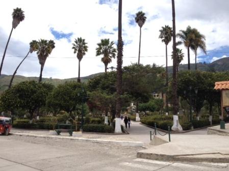 Plaza de Armas, Carhuaz