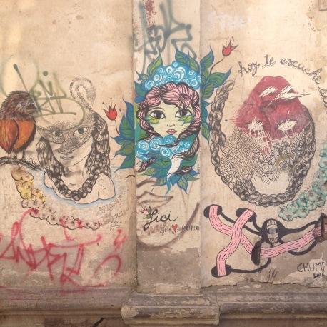grafitti huanchaco peru