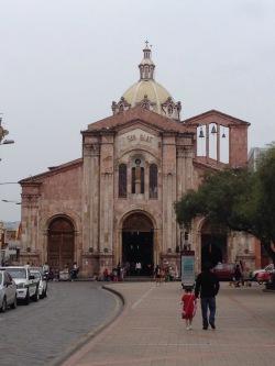 Iglesia San Blas Cuenca ecuador