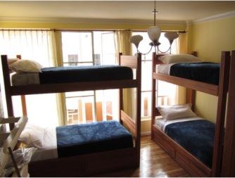Community Hostel dormitory