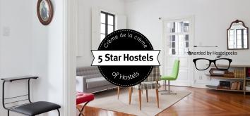 5 Star Hostels - Best hostels worldwide by Hostelgeeks