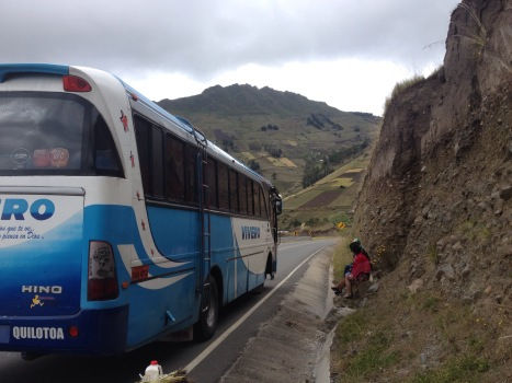 independent travel to Quilotoa