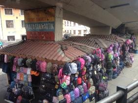Quito street seller