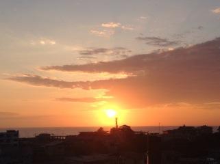 montantia sunset