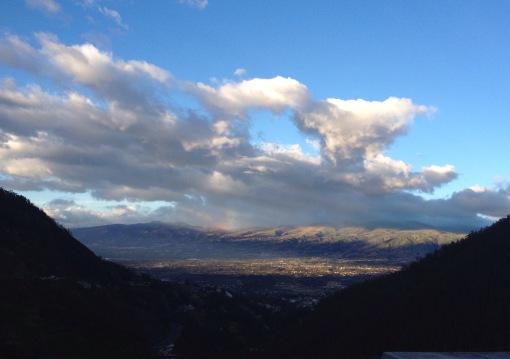 el Mirador de Guapulo Quito