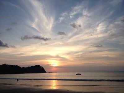 Mompiche sunset
