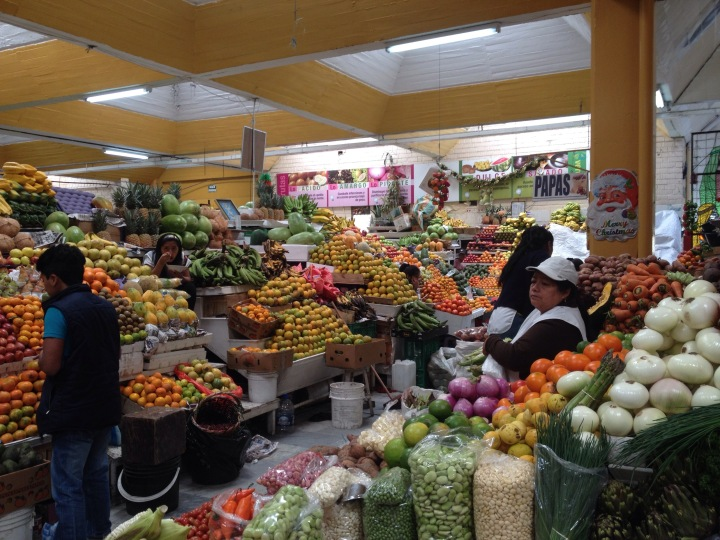 Market Quito Ecuador
