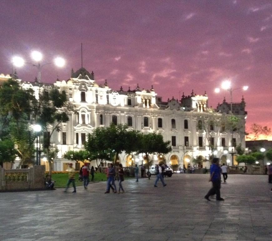 Lima, centro historico